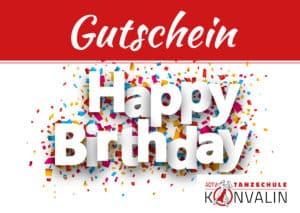 Vorlage Happy Birthday